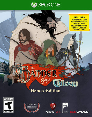 Banner Saga Trilogy Bonus Edition Xbox One