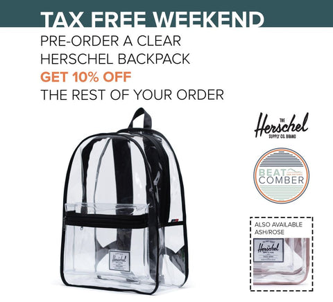 Clear Backpacks from Herschel