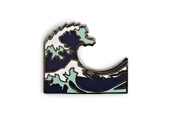 The Great Wave Pin | Pintrill | Default Title |