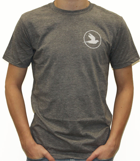 BeatComber Blackbird Chest Tee | BEATCOMBER | HGREY |