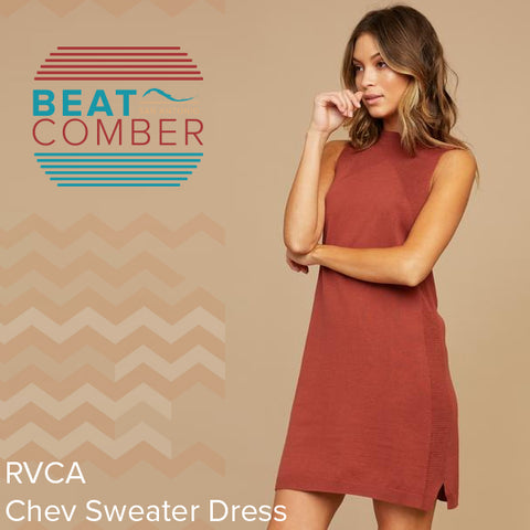 Chev Sweater Dress