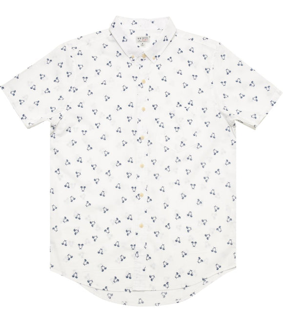 FORD S/S WOVEN - WHITE | CATCH SURF | S |