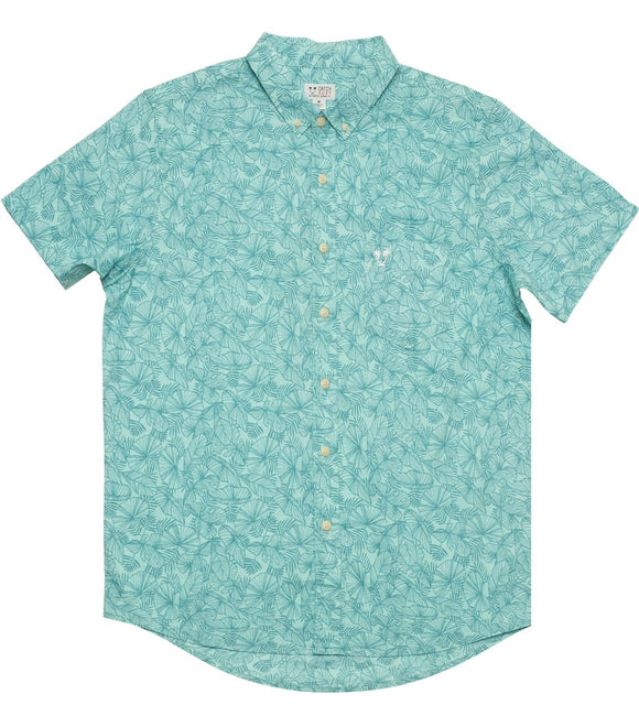 CARTER S/S WOVEN - TEAL | CATCH SURF | S |