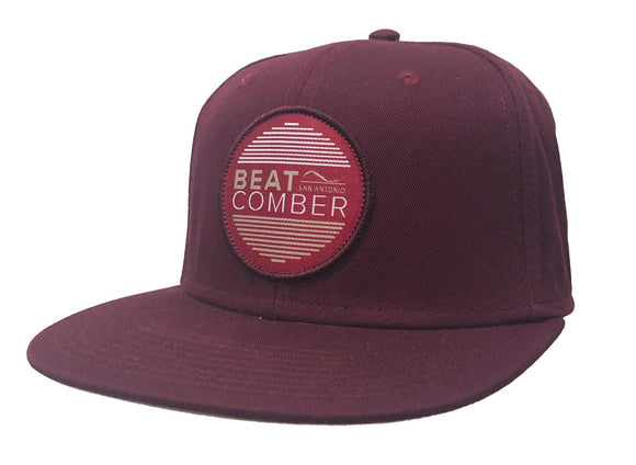 Phantom Vibrations Hat - Maroon | BEATCOMBER | Default Title |
