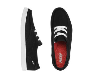 REEF Deckhand 2 Shoe - Black White Red