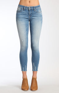 Adriana Ankle Super Skinny in Light Shaded Glam | mavi | 25 |