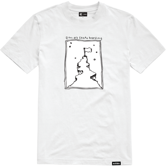 WHITE FLAG SS TEE WHITE