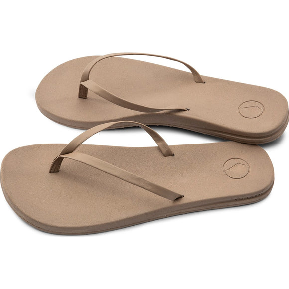 E-CLINER PRAYER SANDALS - COGNAC