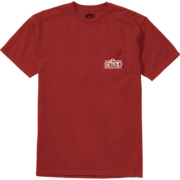SHEEP POCKET T RED | Etnies | RED |