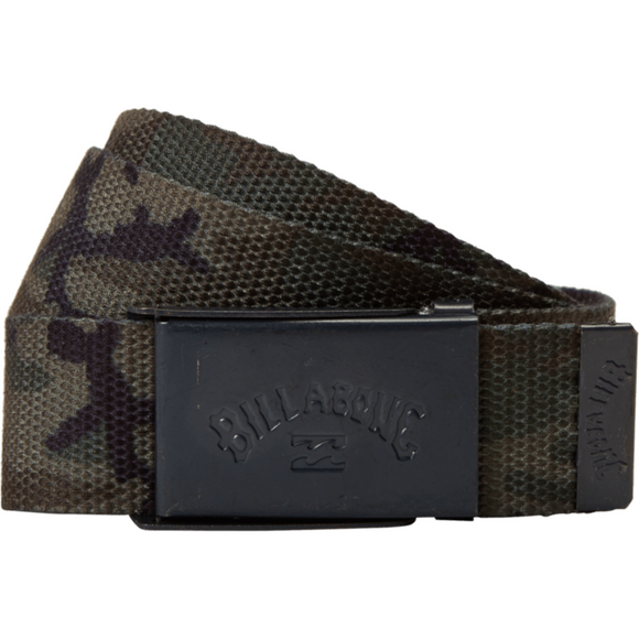 COG PRINT BELT | Billabong | Camo |