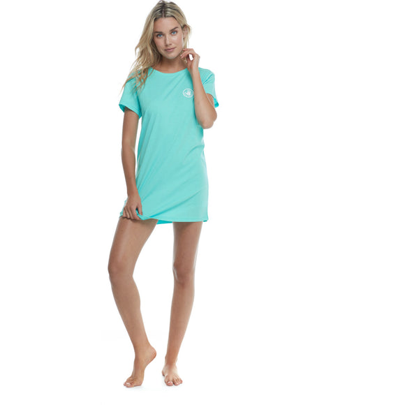 BRIELLE T-SHIRT DRESS | BODY GLOVE | SEAMIST HEATHER |
