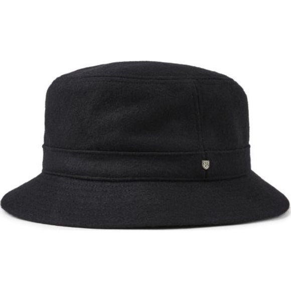 BURROUGHS BUCKET HAT - BLACK