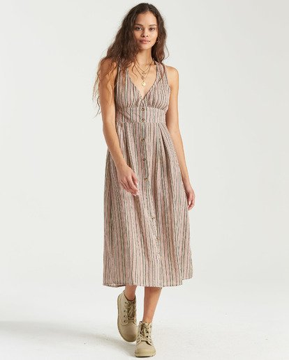 Hidden Coves Midi Dress
