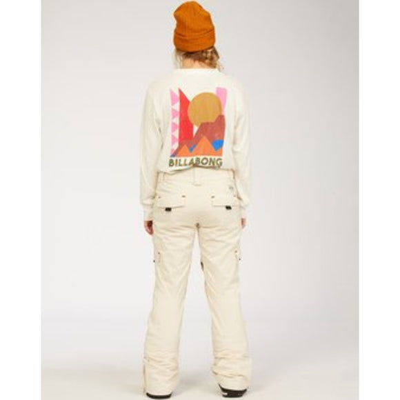 A/DIV Women's Nela Snow Pants | Billabong | White Cap |