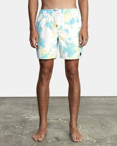MANIC ELASTIC SHORT - ACID GREEN | RVCA | S |