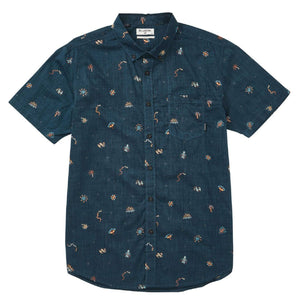 Sundays Mini Short Sleeve Woven Shirt