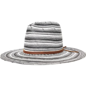 FAREWELL FEDORA - BLACK/OFF WHITE