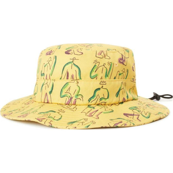 Beaufort Bucket Hat - Yellow