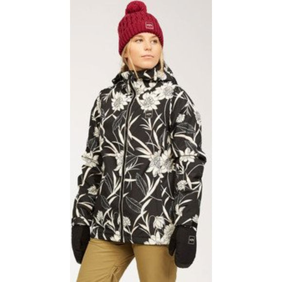 Women's Sula Snow Jacket | Billabong | BLACK FLORAL |