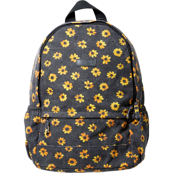 WOMENS LOW TIDE BACKPACK | RVCA | Black |