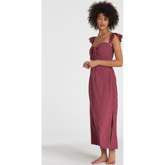 Cherry Lips Dress | Billabong | RUBY WINE |