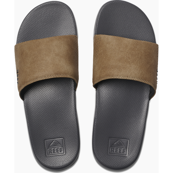 REEF ONE SLIDE | Reef | GREY/TAN |