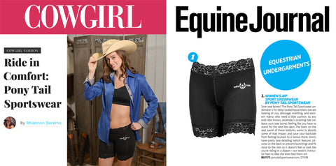 cowgirl magazine equine journal press