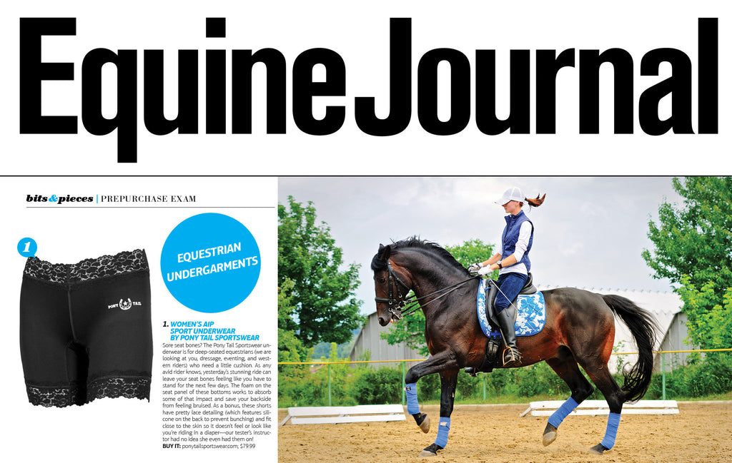 pony tail sportswear reviewed in equine journal