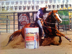 Raley Mae Zebrauskas. 3x NHSRA National Champion, NCHA World Champion