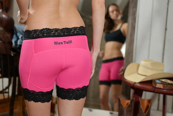 """Not Quite Perfect""  AIP™ Sport Underwear by Pony Tail Sportswear - Pony Tail Pink"