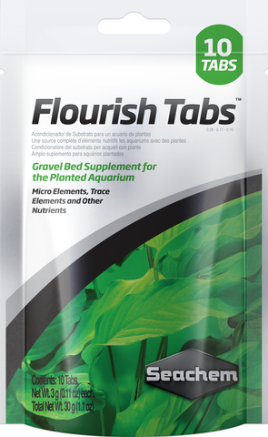 SeaChem Flourish Plant Nutrients Tablets 10pk