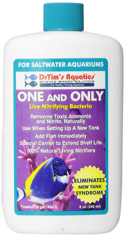 Dr Tim's One And Only Nitrifying Bacteria for Saltwater & Reef Aquariums