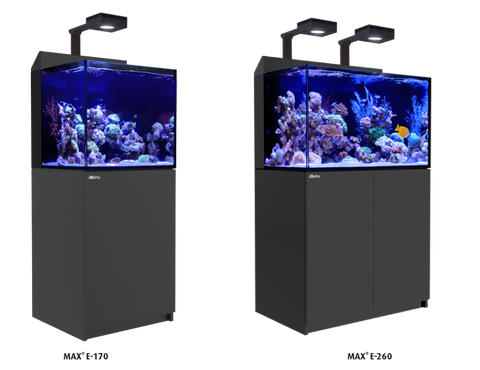 NEW Red Sea Max E Series Rimless Aquariums with ReefLED 90 Light System