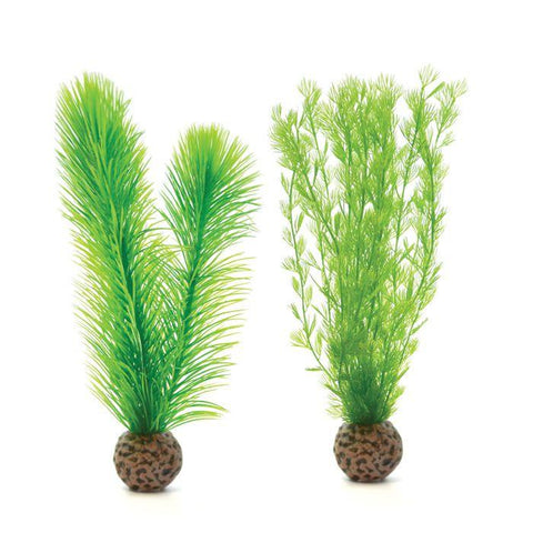 BiOrb Green Feather Fern, Small, 2 Pack