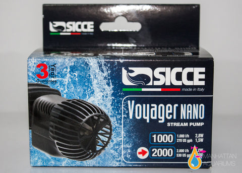Sicce Voyager Nano Circulation Pump 2000