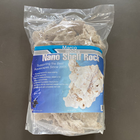 MarcoRocks Nano Shelf- 8lb bag