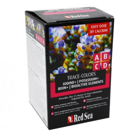 Red Sea Trace Colors ABCD 4-Pack