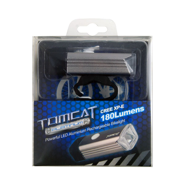 Part (1PCS)Tomcat Platinum USB Re Charge Front Bike Light