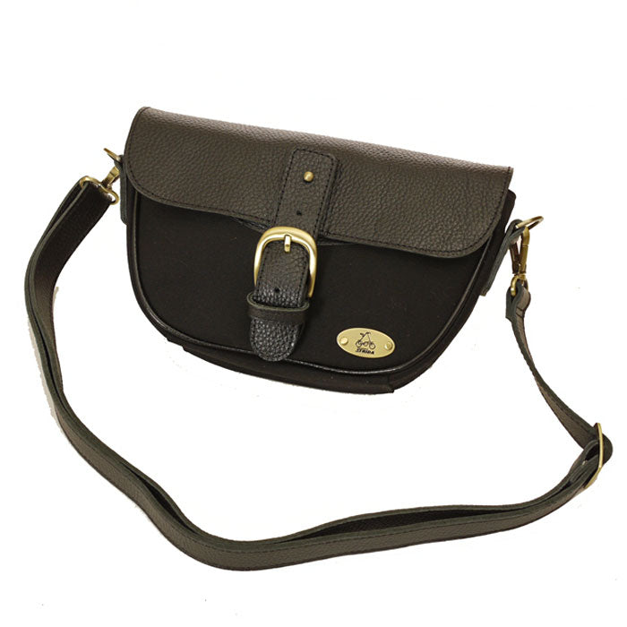 Strida Handlebar Bag - Black Leather