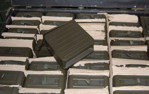 PKM GPMG 200RD Ammo Box/Can (Tripod Use Only) + 200 Link Belt
