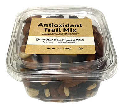 Antioxidant Trail Mix, 12 oz Container - 12 Pack