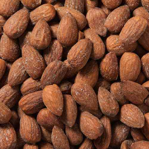 Dry Roasted Almonds (Salted) | Woodstock Farms
