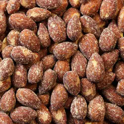 Apple and Honey Flavored Almonds | Woodstock Farms