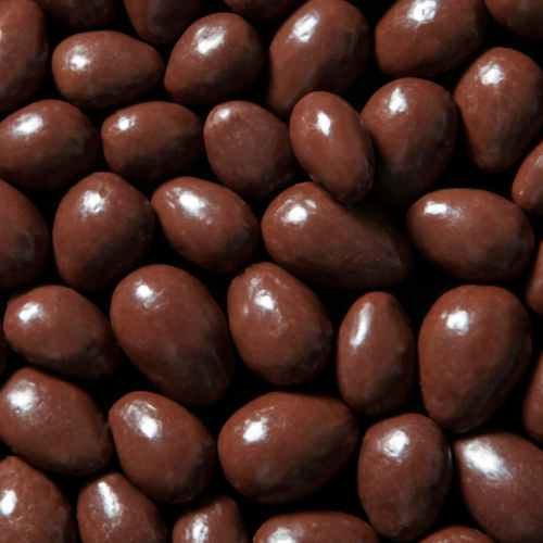 Dark Chocolate Almonds with ECJ | Woodstock Farms