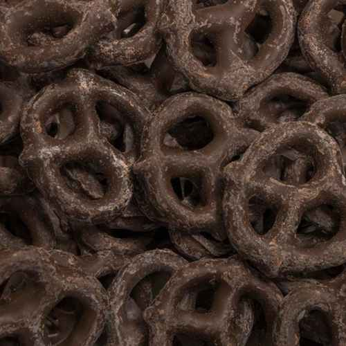 Dark Chocolate Pretzels | Woodstock Farms
