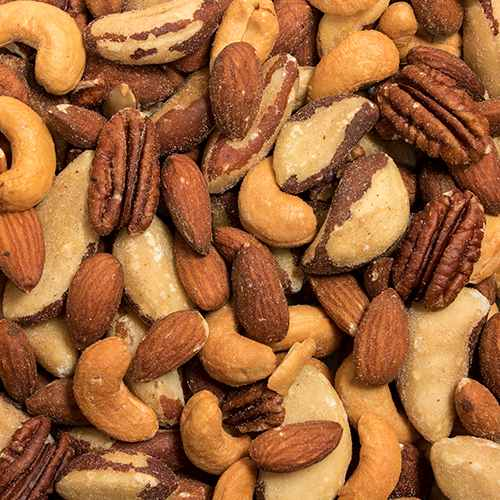 Mixed Nuts Roasted Unsalted | Woodstock Farms
