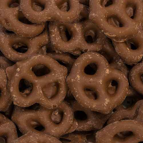 Milk Chocolate Covered Pretzels | Woodstock Farms