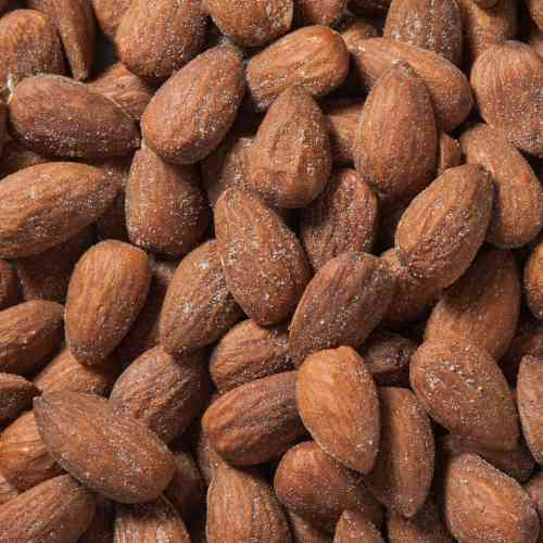 Organic Almonds Dry Roasted & Salted | Woodstock Farms