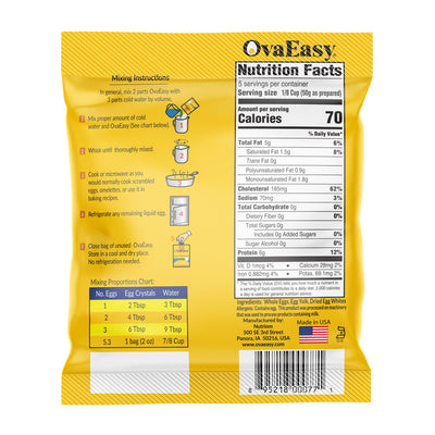 OvaEasy Whole Egg - 2.0 oz (5 eggs)