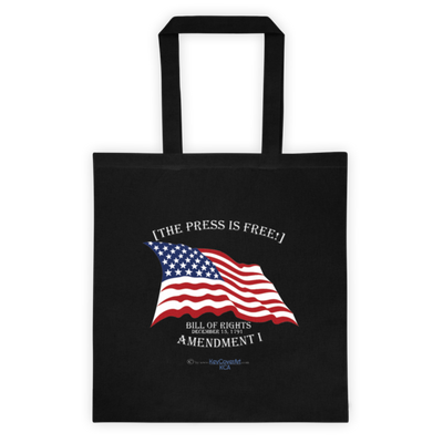 The Press is Free - Tote bag